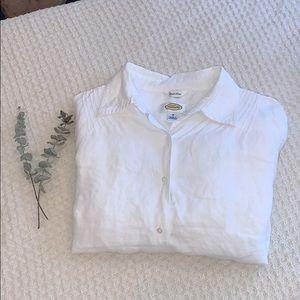 • Linen Button Up Shirt •